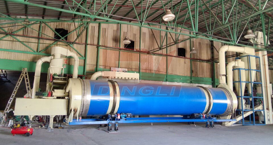 Israel sawdust drying equipment site