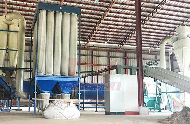 Crops Straw Drying Production Line