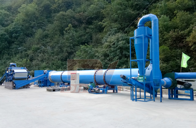 Special Dryer For Cassava Pulp And Potato Residue